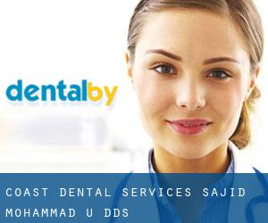 Coast Dental Services: Sajid Mohammad U DDS