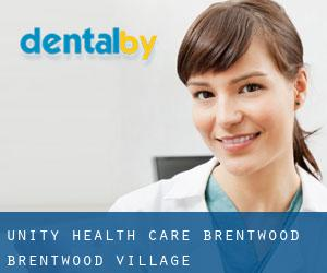 Unity Health Care-Brentwood Brentwood Village